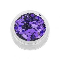 TNL, Пайетки для ногтей «Кошачий глаз» - фиолетовые №2 TNL Professional