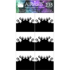 Airnails, Трафареты №235