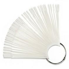 TNL, Палитра «веер» прозрачная, 50 цветов TNL Professional