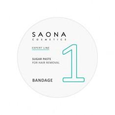 Saona Cosmetics, Сахарная паста для депиляции Bandage, 200 г