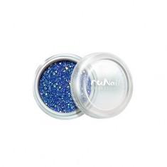 ruNail, Дизайн для ногтей: блестки 0301 (Сине-голубые)