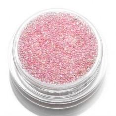 TNL, Бульонки стеклянные, розовая карамель TNL Professional