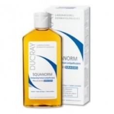 Ducray Squanorm Shampoo - Шампунь от жирной перхоти, 200 мл Ducray (Франция)