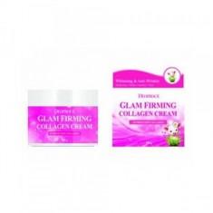 крем для лица подтягивающий коллагеновый deoproce moisture glam firming collagen cream