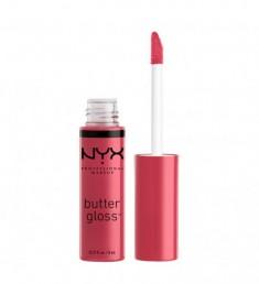 NYX PROFESSIONAL MAKEUP Блеск для губ, тающий на губах Butter Lip Gloss - Strawberry Cheesecake 32