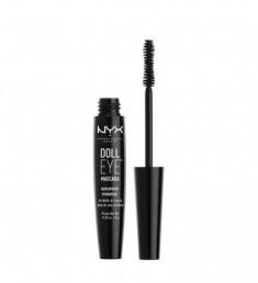 NYX PROFESSIONAL MAKEUP Влагостойкая тушь с эффектом накладных ресниц Doll Eye Mascara Waterproof - Black 03