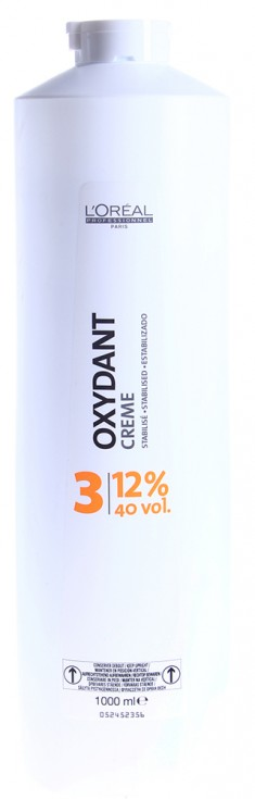 L'OREAL PROFESSIONNEL Оксидент-крем 12% (40vol) / OXYDANTS 1000 мл LOREAL PROFESSIONNEL