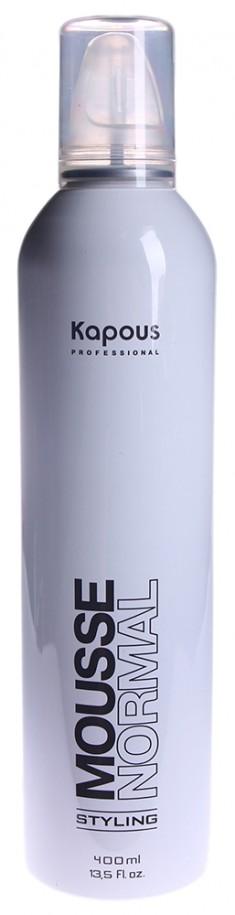 KAPOUS Мусс нормальной фиксации для укладки волос / Mousse Normal 400 мл