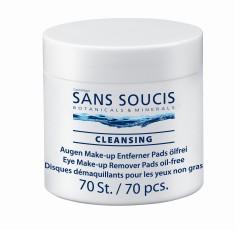 SANS SOUCIS Патчи для снятия макияжа / Eye Make-up Remover Pads 70 шт