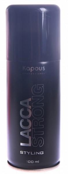 KAPOUS Лак аэрозольный сильной фиксации для волос 100 мл