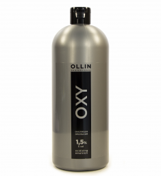 OLLIN PROFESSIONAL Эмульсия окисляющая 1,5% (5vol) / Oxidizing Emulsion OLLIN OXY 1000 мл