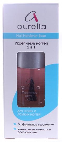 AURELIA Укрепитель ногтей 2 в 1 / BASIC LINE 13 мл