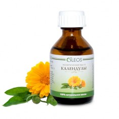 Масло Календулы с витаминно-антиоксидантным комплексом 30 мл Oleos
