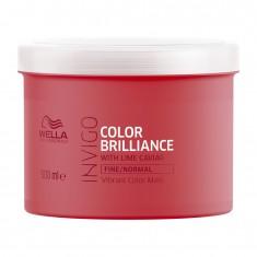 Wella Invigo Color Brilliance Маска-уход для защиты цвета окрашенных нормальных и тонких волос 500мл
