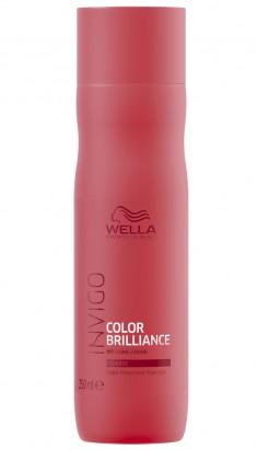 Wella Invigo Color Brilliance Шампунь для окрашенных жестких волос 250мл