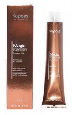 Крем-краска для волос с кератином