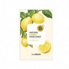Маска с экстрактом лимона тканевая, 21 мл (The Saem)