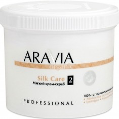 Aravia Organic Silk Care Крем-скраб мягкий 550мл Aravia professional