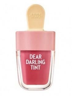 Увлажняющий гелевый тинт для губ ETUDE HOUSE Dear Darling Water Gel Tint №004 Red Bean Red