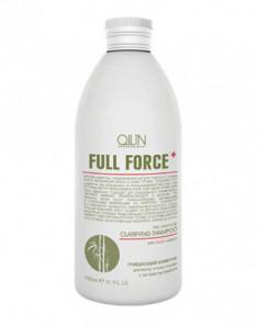 Шампунь очищающий с экстрактом бамбука OLLIN Full Force 300мл