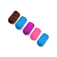 Patrisa Nail, Колпачки песочные 5 мм, 120 грит, цветные