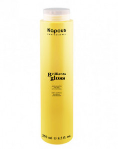 Шампунь-Блеск для волос Kapous Brilliants gloss 250мл