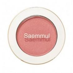 Тени для век мерцающие THE SAEM Saemmul Single Shadow Shimmer CR04 Splash Coral 2гр
