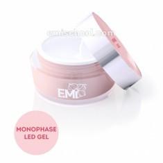 E.mi, monophase led gel, универсальный однофазный led гель для моделирования, 50 г