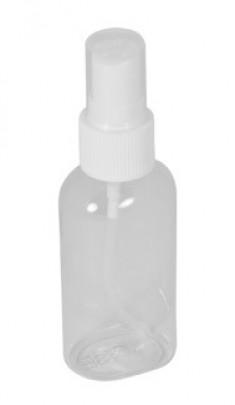 IRISK PROFESSIONAL Бутылочка пластиковая прозрачная с распылителем 50 мл