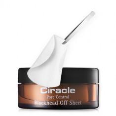 Ciracle Салфетки для удаления черных точек Pore Control Blackhead Off Sheet 30шт/50мл