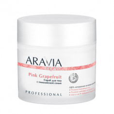 Скраб для тела с гималайской солью Aravia professional Organic Pink Grapefruit 300 мл
