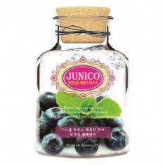 Маска тканевая c экстрактом черники Mijin Junico Blueberry Essence Mask 25гр
