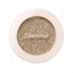 Тени для век с глиттером THE SAEM Saemmul Single Shadow Glitter BE03 1,6г