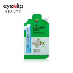 Маска для лица ночная Eyenlip HERB SLEEPING PACK 20гр