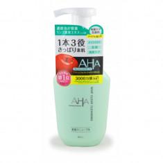 мыло жидкое для лица (с фруктовыми кислотами, пенящееся) bcl aha esthetic soap liquid