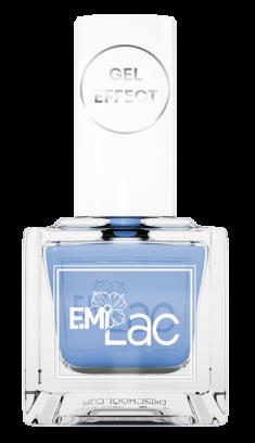 E.MI 043 лак ультрастойкий для ногтей, Василек / E.MiLac Gel Effect 9 мл