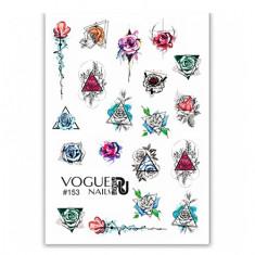 Vogue Nails, Слайдер-дизайн №153