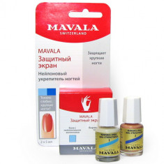 MAVALA Экран защитный для ногтей, на блистере / Nail Shield 2*5 мл
