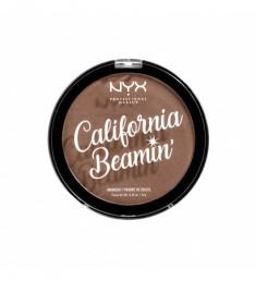 NYX PROFESSIONAL MAKEUP Бронзирующая пудра для лица и тела California Beamin' Face & Body Bronzer - The Oc