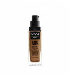 NYX PROFESSIONAL MAKEUP Тональная основа Can't Stop Won't Stop Full Coverage Foundation - Almond 153