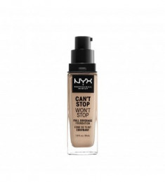 NYX PROFESSIONAL MAKEUP Тональная основа Can't Stop Won't Stop Full Coverage Foundation Light 05