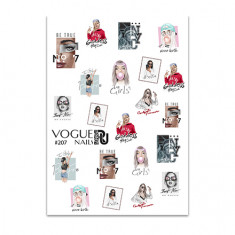 Vogue Nails, Слайдер-дизайн №207