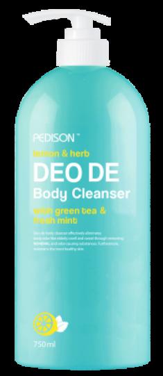 Гель для душа ЛИМОН и МЯТА EVAS Pedison DEO DE Body Cleanser 750 мл