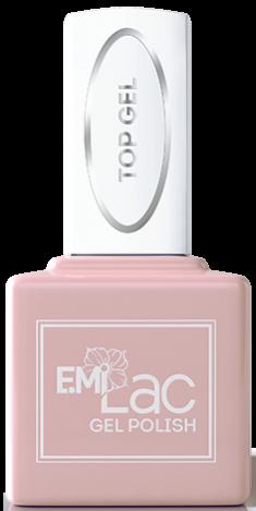 E.MI Покрытие верхнее для гель-лака / E.MiLac Top gel 9 мл