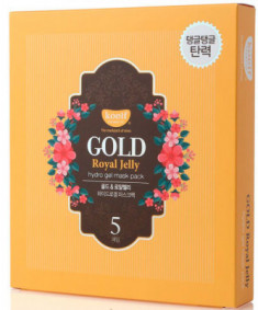 Маска гидрогелевая PETITFEE KOELF GOLD & ROYAL JELLY MASK 30г*5шт