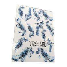 Vogue Nails, Слайдер-дизайн №219
