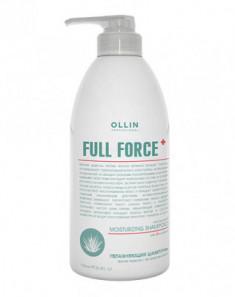 Шампунь увлажняющий против перхоти с экстрактом алоэ OLLIN Full Force 750мл