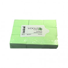 Vogue Nails, Безворсовые салфетки, зеленые, 450 шт.