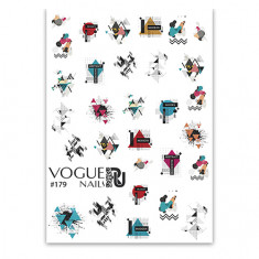 Vogue Nails, Слайдер-дизайн №179
