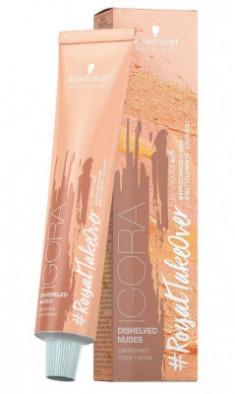 Крем-краска Schwarzkopf Professional Igora Royal Disheveled Nudes 9-567 Блондин золотистый шоколадно-медный 60 мл